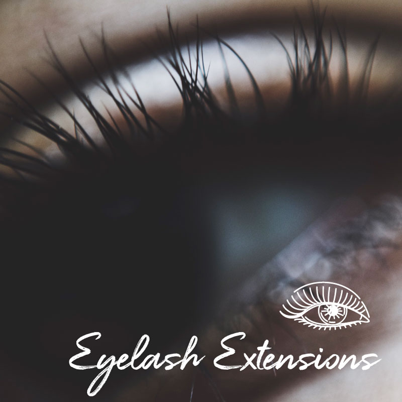 Eyelash Extensions and Tints   Getting ready is so simple when you have eyelash extensions or a lash/brow tint. Walk out the door with natural looking, stunning lashes.