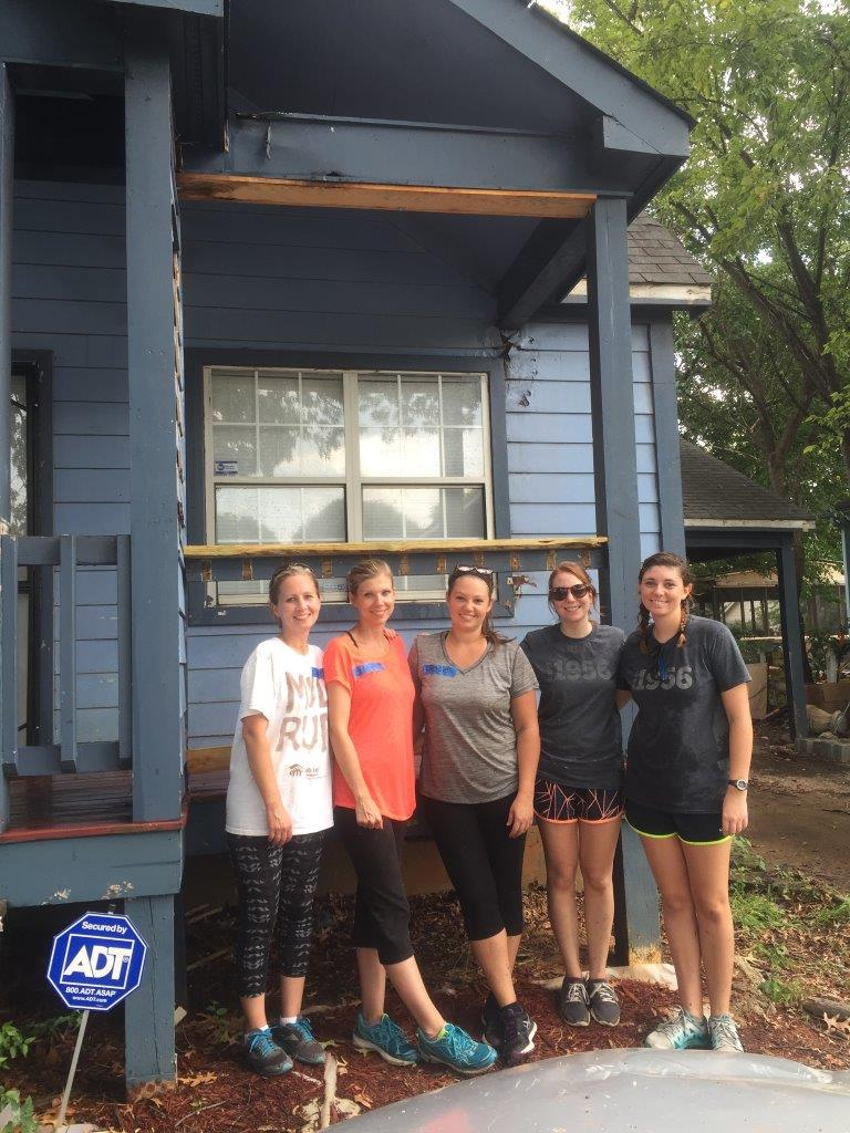 serving habitat for humanity -
