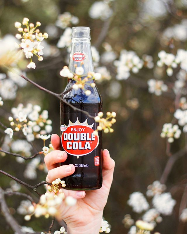 It's the first day of spring! How are you celebrating? We'll be kicking back with an ice cold DOUBLE COLA!