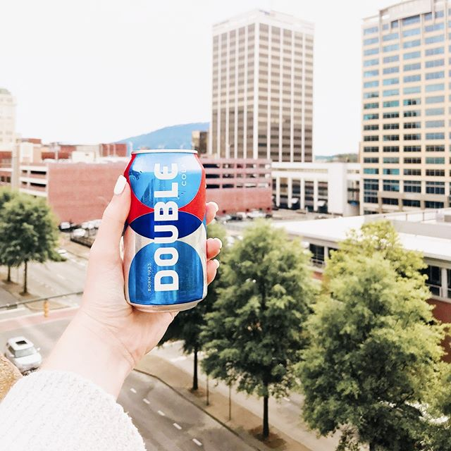 Rainy days in Chattanooga call for a Double Cola! #drinkdoublecola