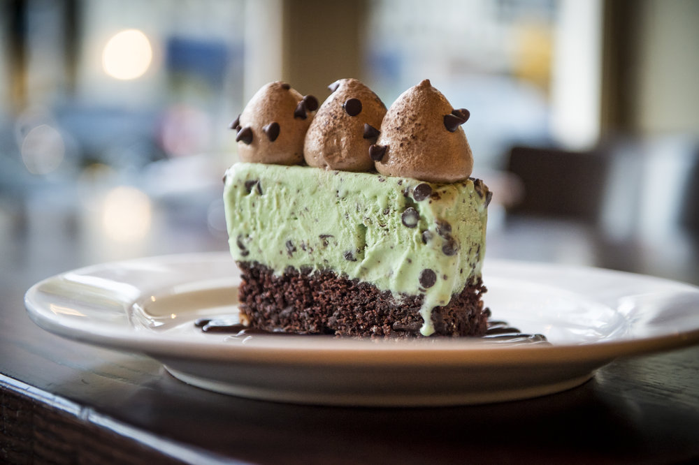 Mint Chip Baked Alaska