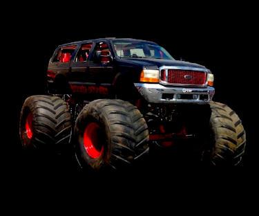 Insane Asylum - 2002 Ford Excursion2014 Southern Excitement Motorsports Chassis5.4 Liter Ford Triton V-85 Ton Military Axles20