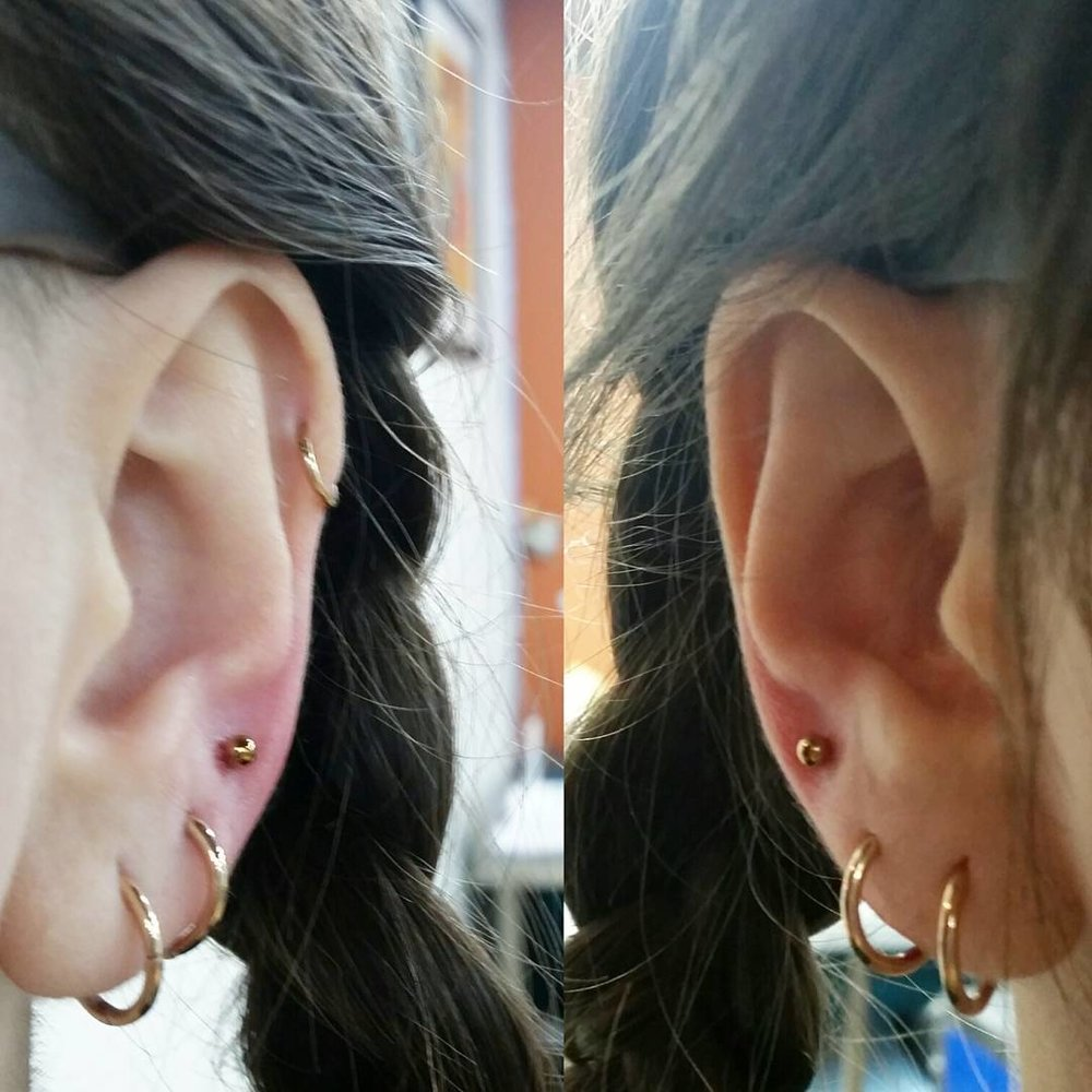earlobes - needle - $50 each$90 for a pairincludes jewellery and aftercare