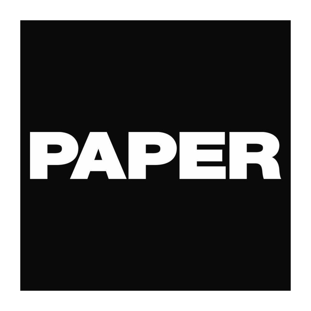 PAPER MAGAZINE -