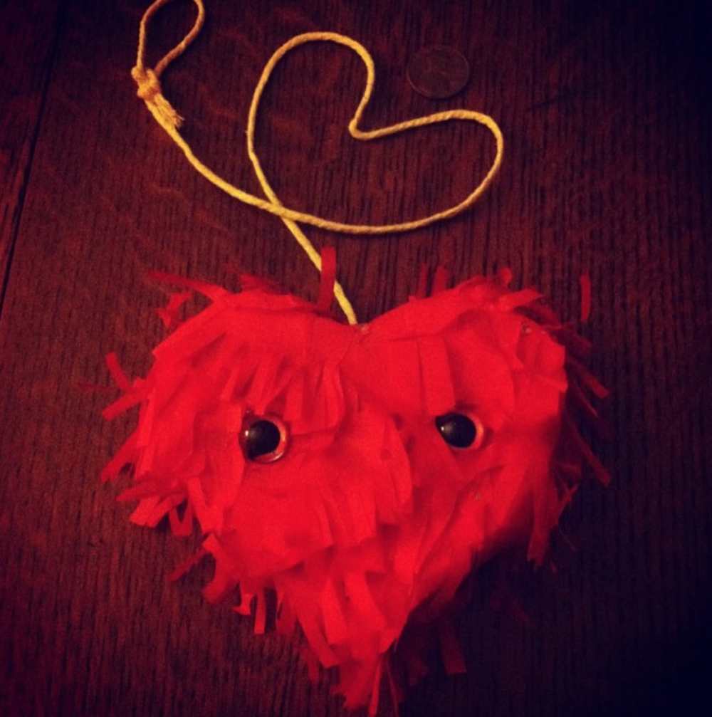 Mini Heart Piñata