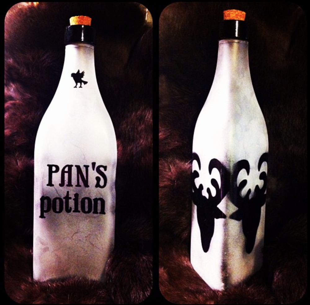 Pan's Potion Bottle