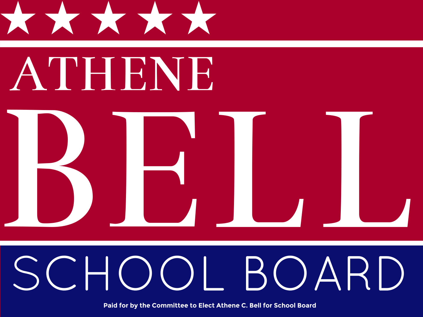 Athene Bell for School Board