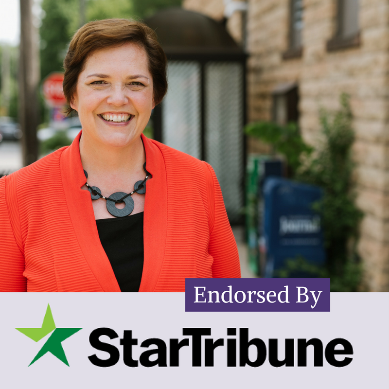 Star Tribune Endorsement margaret anderson kelliher