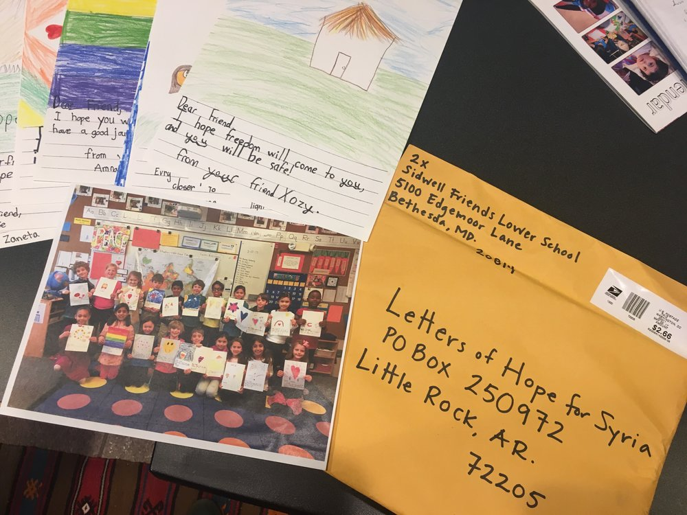 Letters of Hope for Syria -