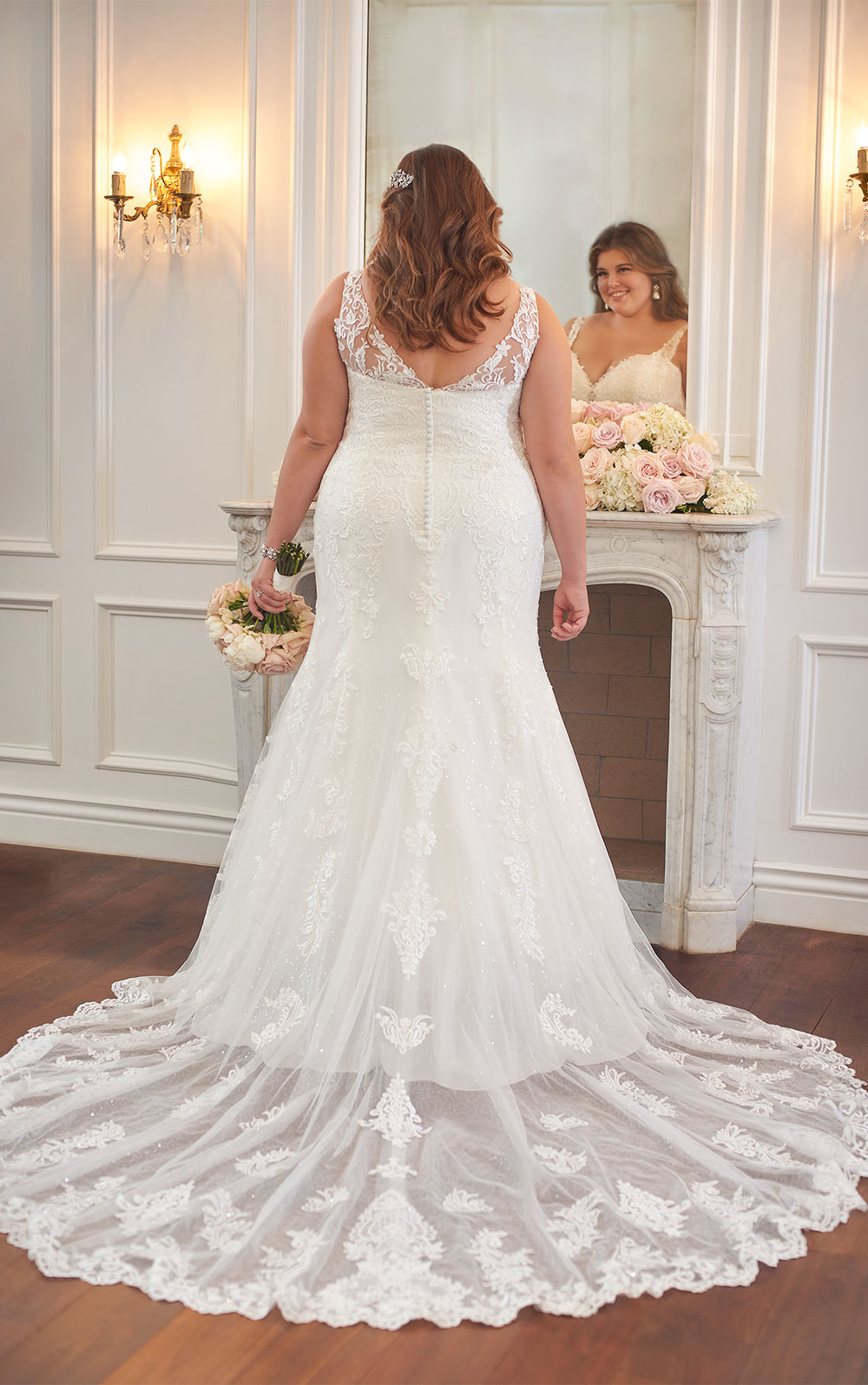 Plus Size wedding dress | blush bridal | Baton Rouge wedding dress store