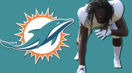 Claudy Mathieu, DE, Miami Dolphins