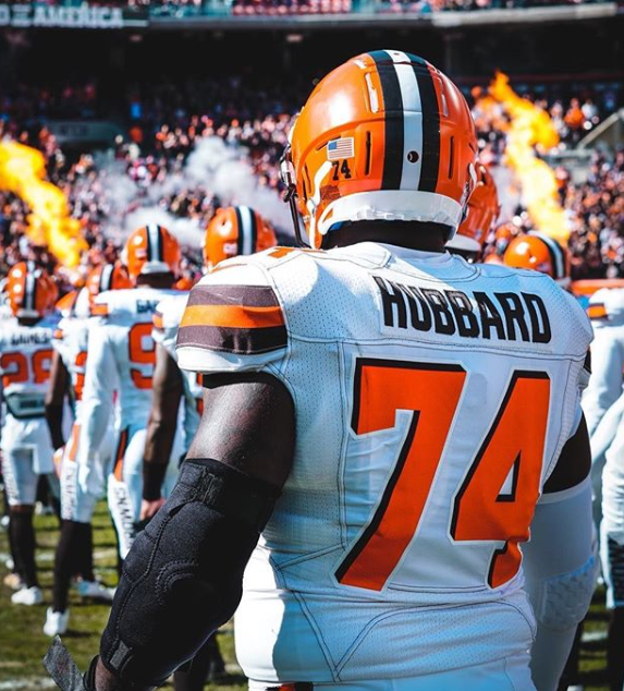 Chris Hubbard, OL, Cleveland Browns