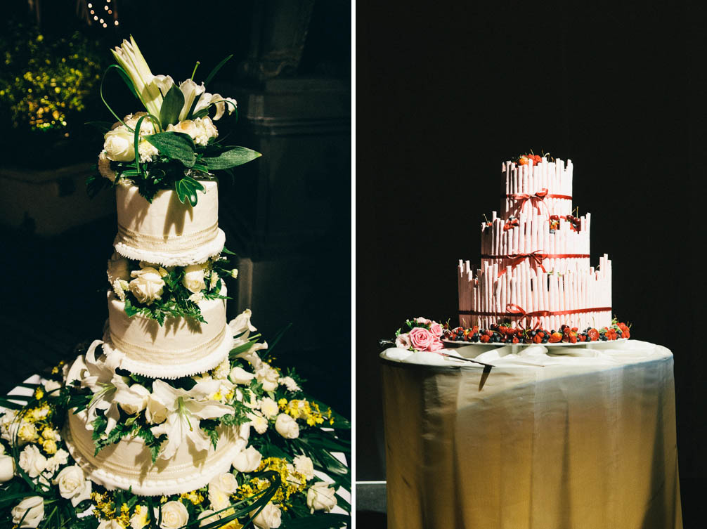 Wedding photography cakes.