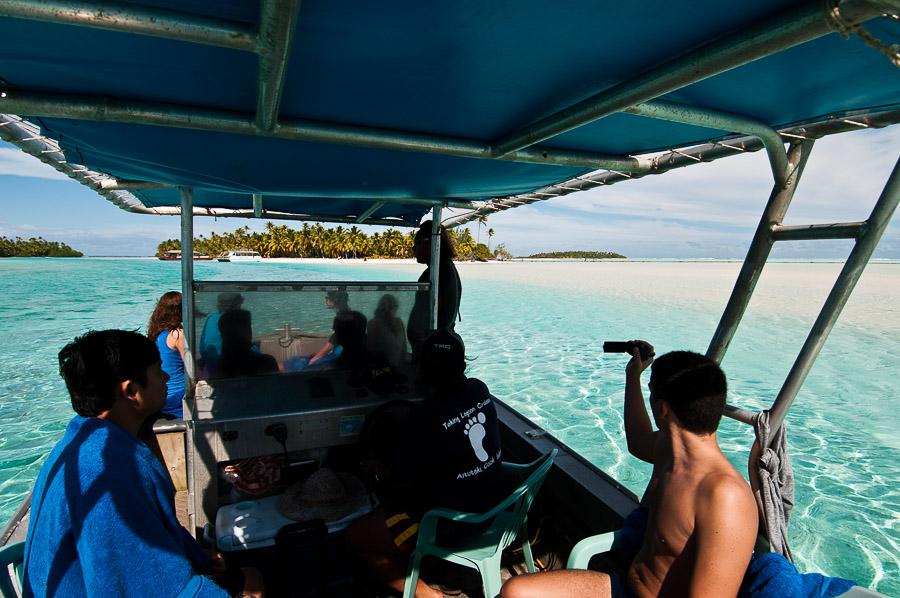 Aitutaki Island.