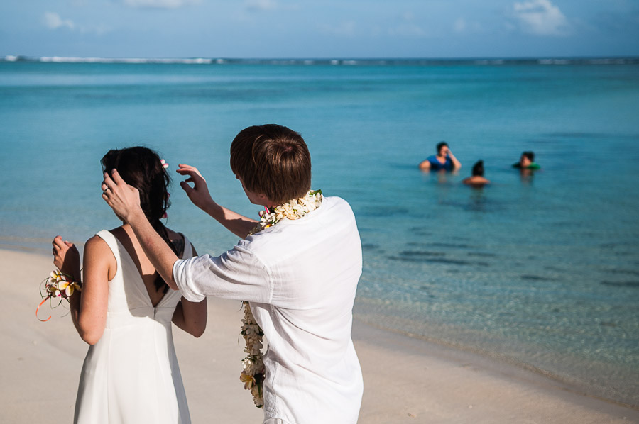 Cook Island Wedding