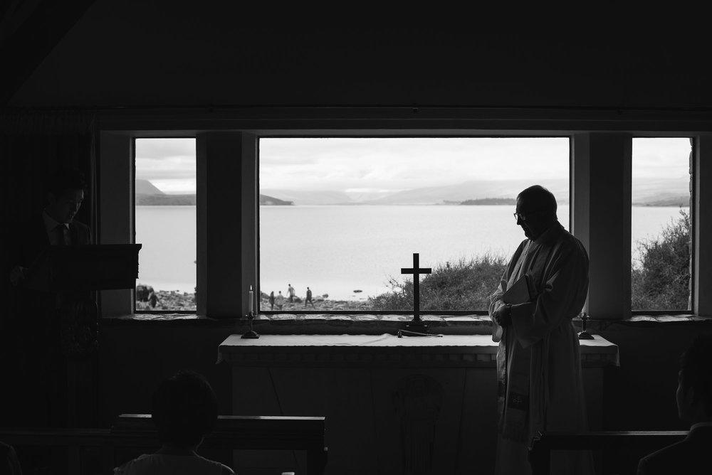 Lake Tekapo Wedding, inside the Church of the Good Shepherd