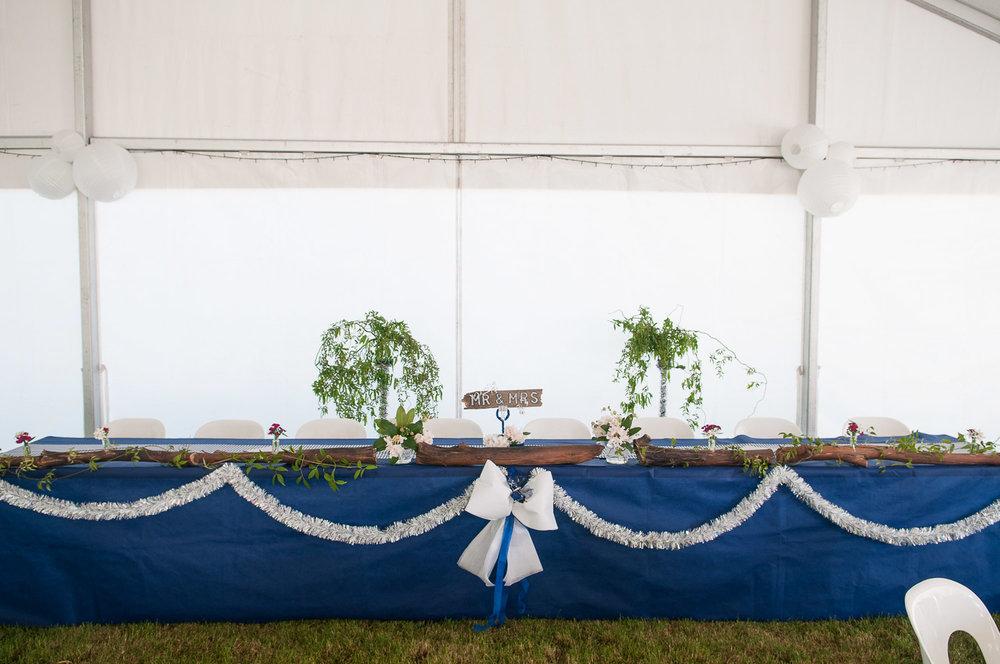 Farm wedding, St Mary's Leeston, country wedding reception.