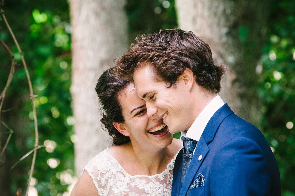Langdale Vineyard Wedding, Jodie & Jacob happily married.