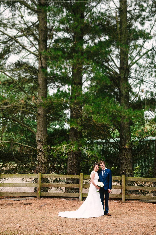 Langdale Vineyard Wedding, Jodie & Jacob portrait.