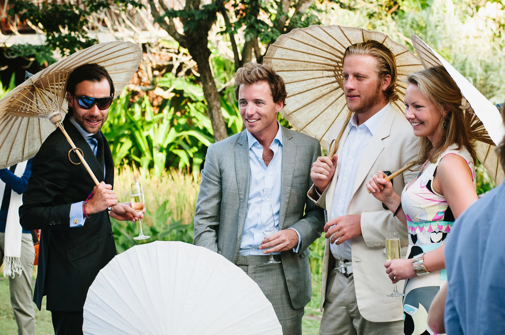 Four Seasons Resort Chiang Mai Wedding, wedding guests.
