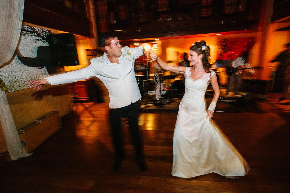 Four Seasons Resort Chiang Mai Wedding, Katie & Tim first dance.