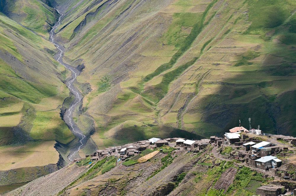 Xinaliq village, Azerbaijan.