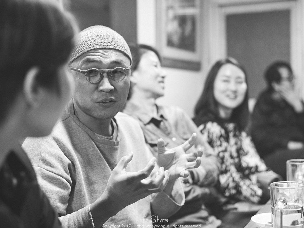 '17.11월 라이프쉐어 캠프@부암: 여행작가