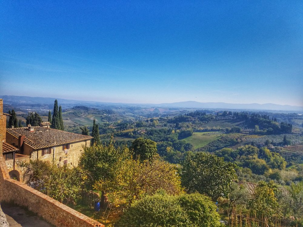 A little of Tuscany - Pisa, Sienna and San Gimignano