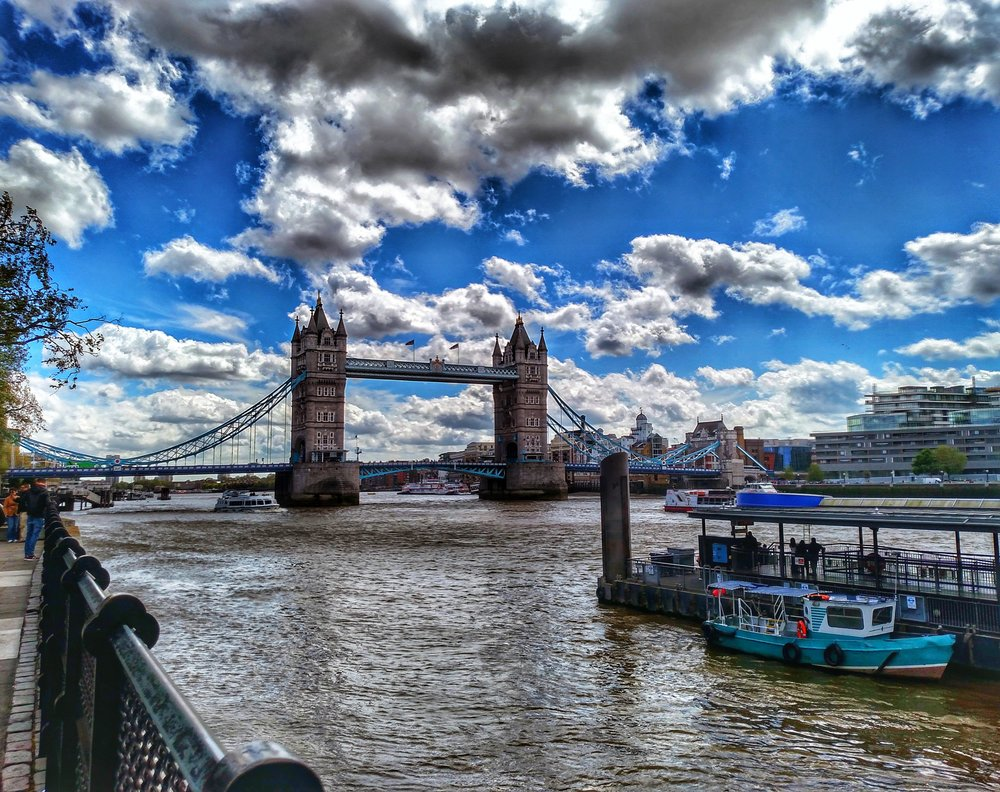 A side trip to London -