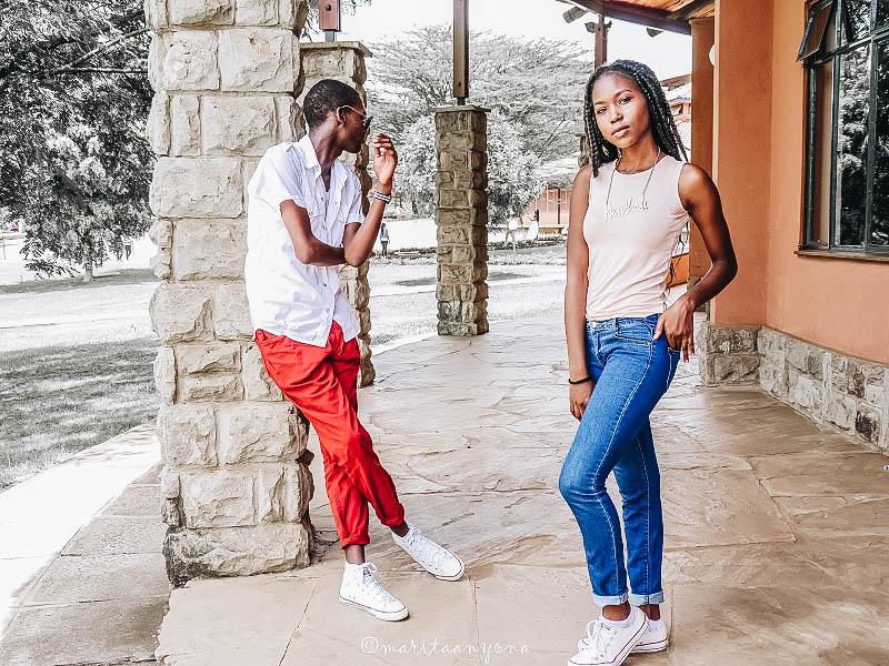 Fred Anyona & Brenda Nyamichabaa | Style Hacks for girls and guys | College Fashion