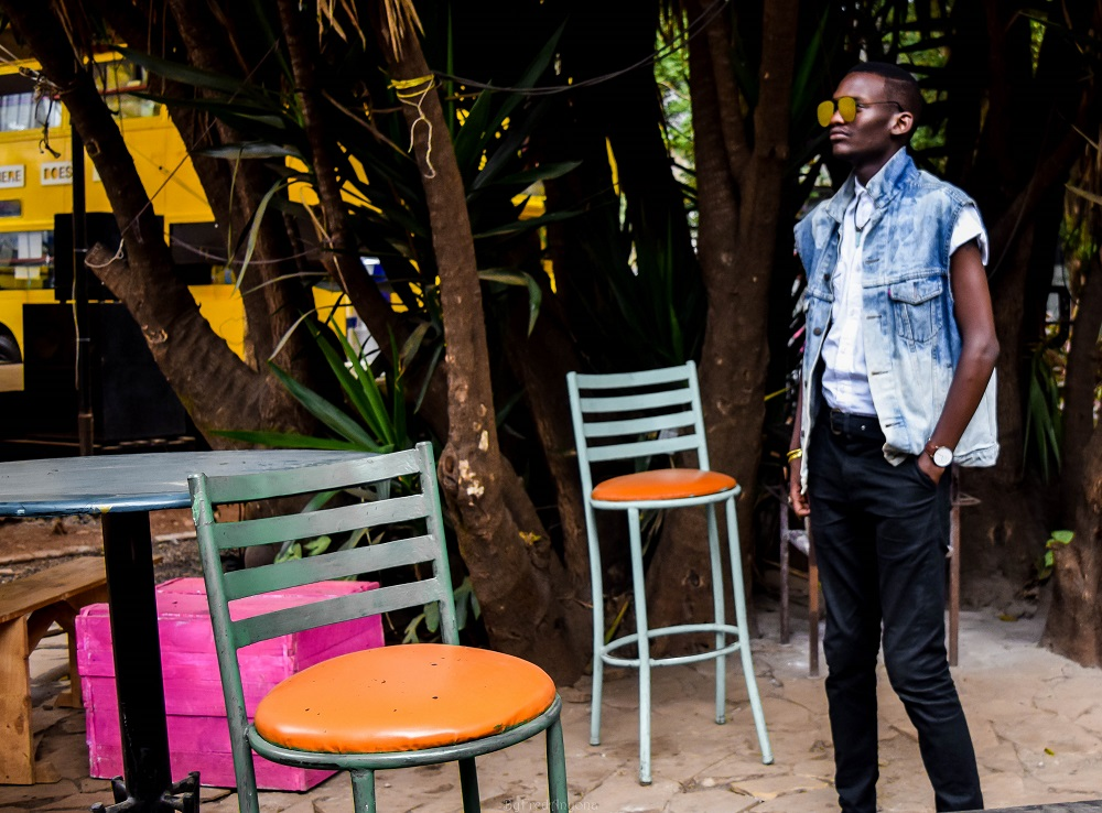How to wear a denim jacket | By fred anyona | levis jacket