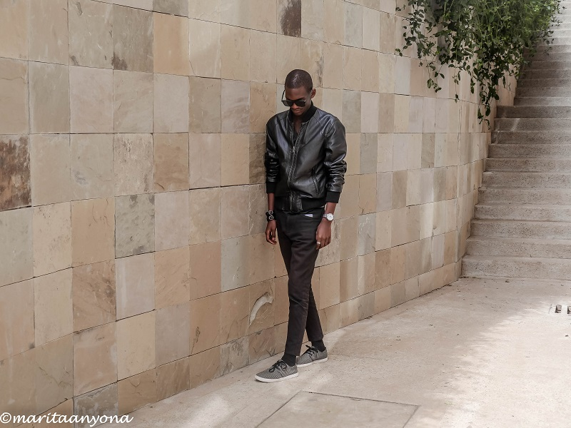 Black On Black Look | Monochrome | Fred Anyona