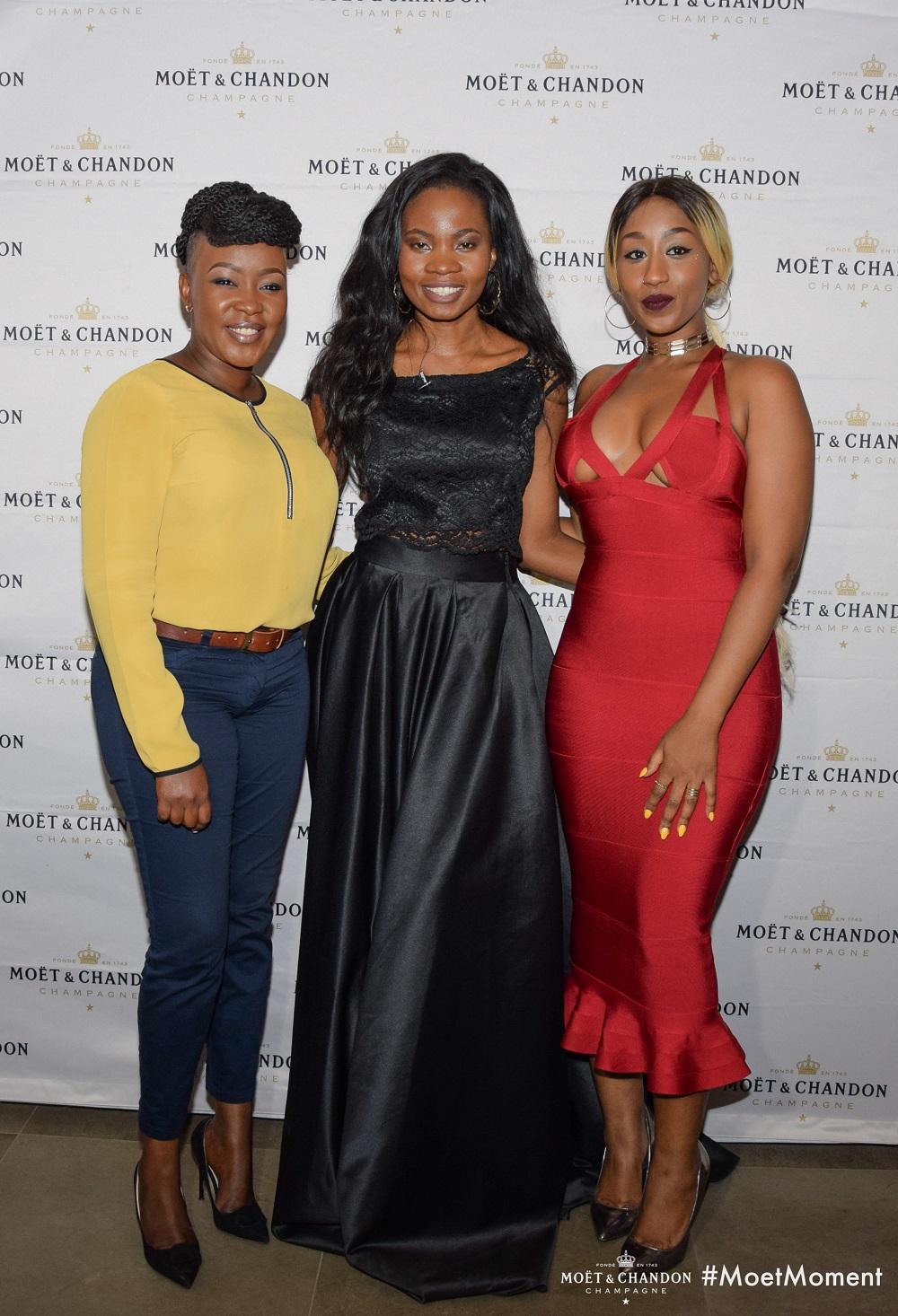 Terryanne Chebet, Lucia Musau & Victoria Kimani
