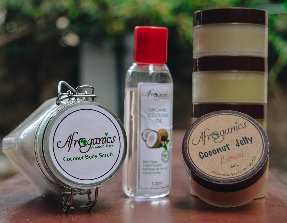 Afroganics | Coconut products | So You Like Fashion