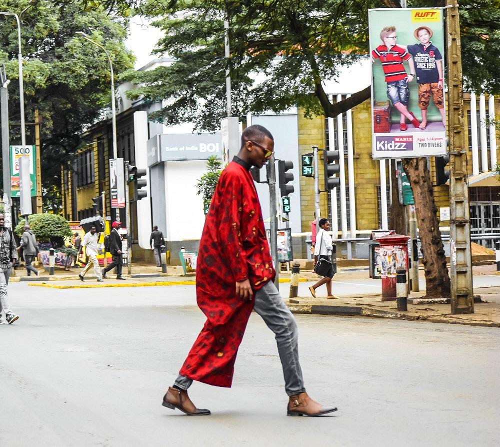 Bold African Print Shirt By Wangari Mathenge