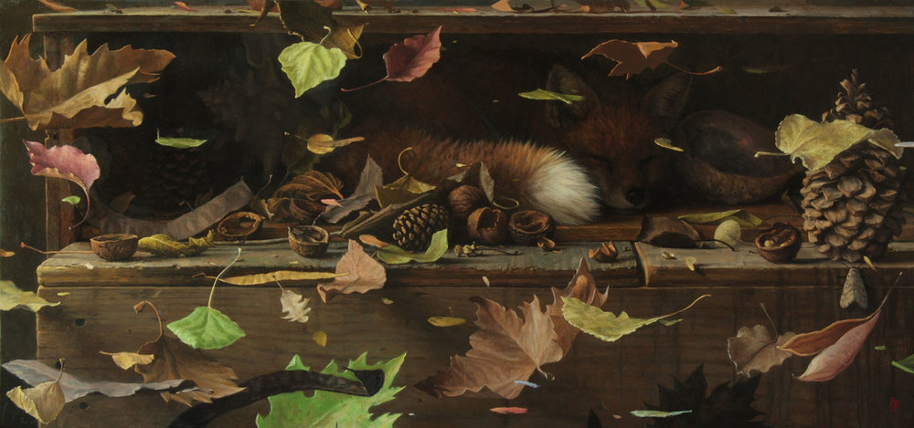 Fox Finds the Magpie's Cache