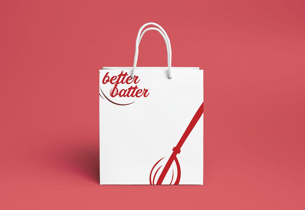 Better Batter Shopping Bag