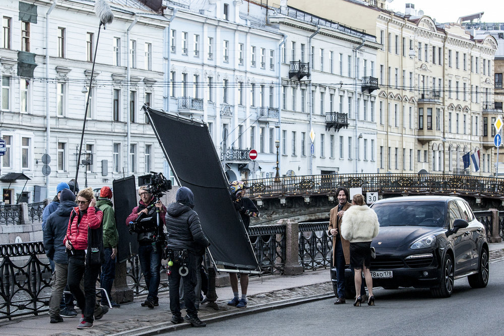 SIBERIA - on location in St. Petersburg