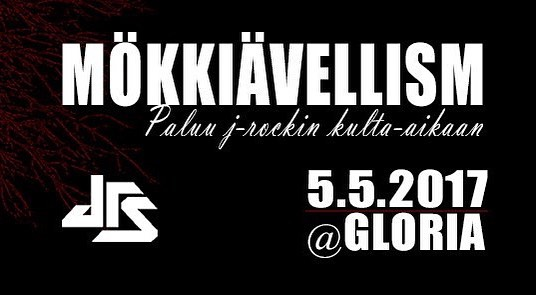 DIE/MAY LIVE at Gloria, Helsinki 5.5.2017!! 🔞  https://www.facebook.com/events/411196979231380/?ti=icl