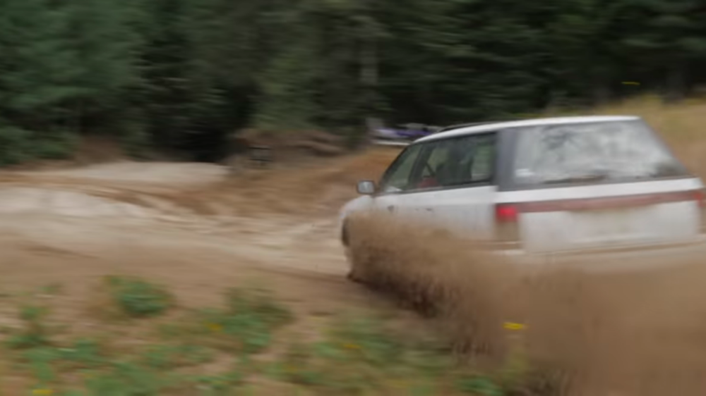 subaru legacy - She jumped over 40 ft. that day38.00Watch it now https://www.youtube.com/watch?v=WDrtU6Oo8Dc