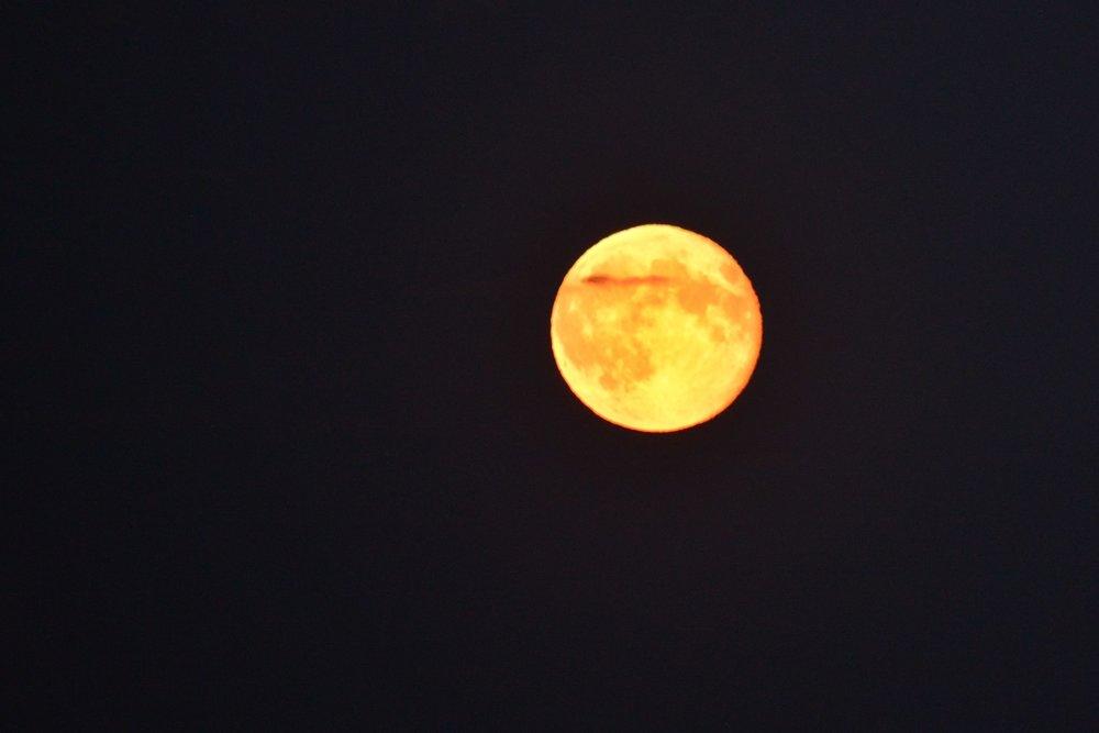Bildet er ikke fra en måneformørkelse