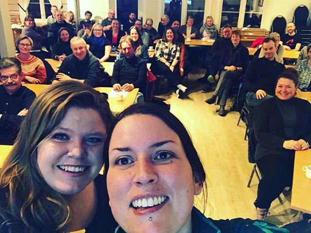Veldig gøy å få holde foredrag om sosiale medier i Folldal sammen med Klosser, Innovasjon Norge og Rørosregionen Næringshage! 😍