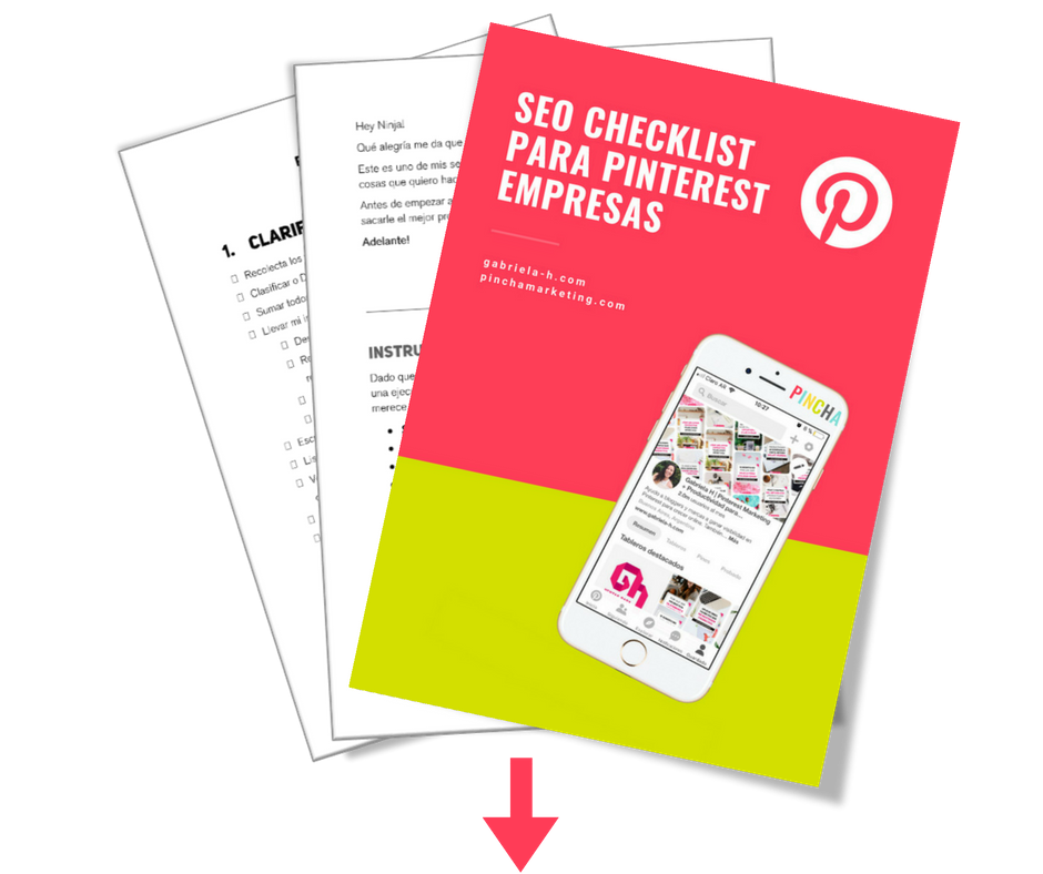 Descarga gratuita: Checklist de SEO para Pinterest