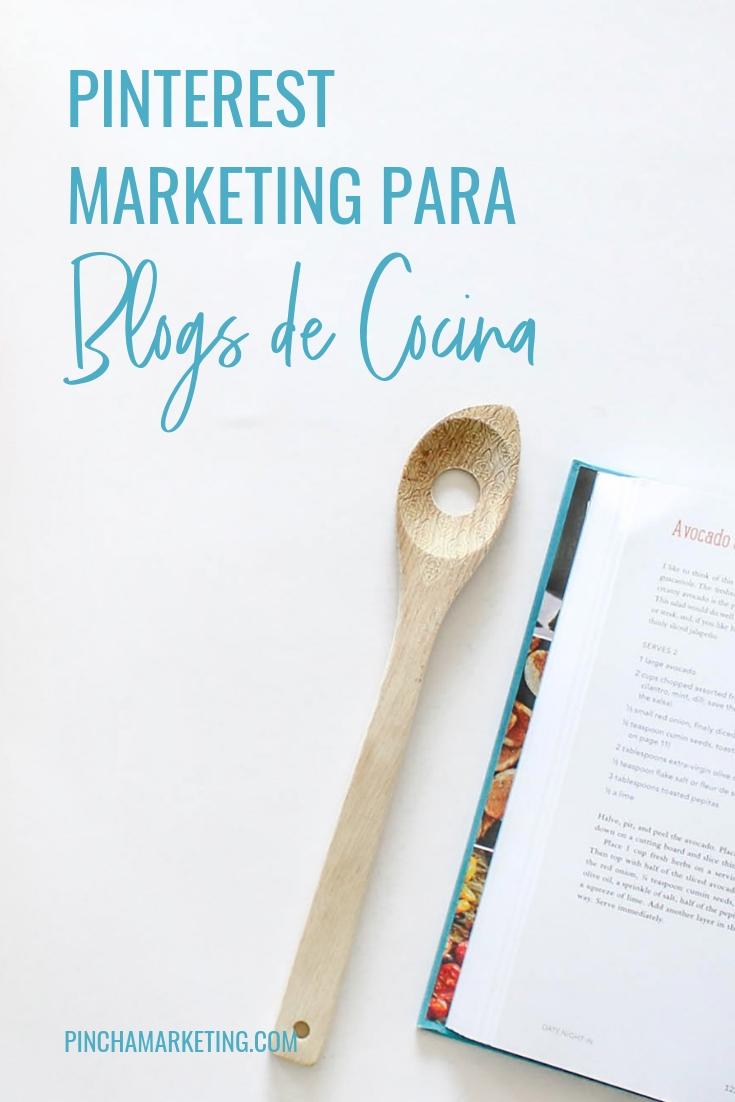 Cómo usar Pinterest para un Blog de Cocina #pinchapodcast #blogdecomidas #blogderecetas #blogdecocina #foodblogger #foodblogging #pinterestespañol #pinterestmarketing