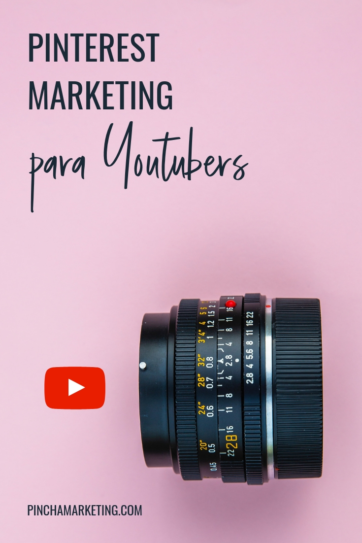 Cómo usar Pinterest para hacer crecer tu canal de Youtube #pinchapodcast #youtubers #youtubetips #influencermarketing #pinterestmarketing #seo