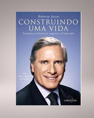 Roberto Justus lança seu primeiro livro - 2006 |