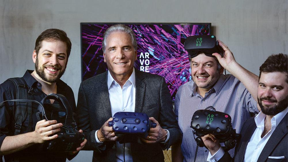 Roberto Justus investe em projeto de VR -