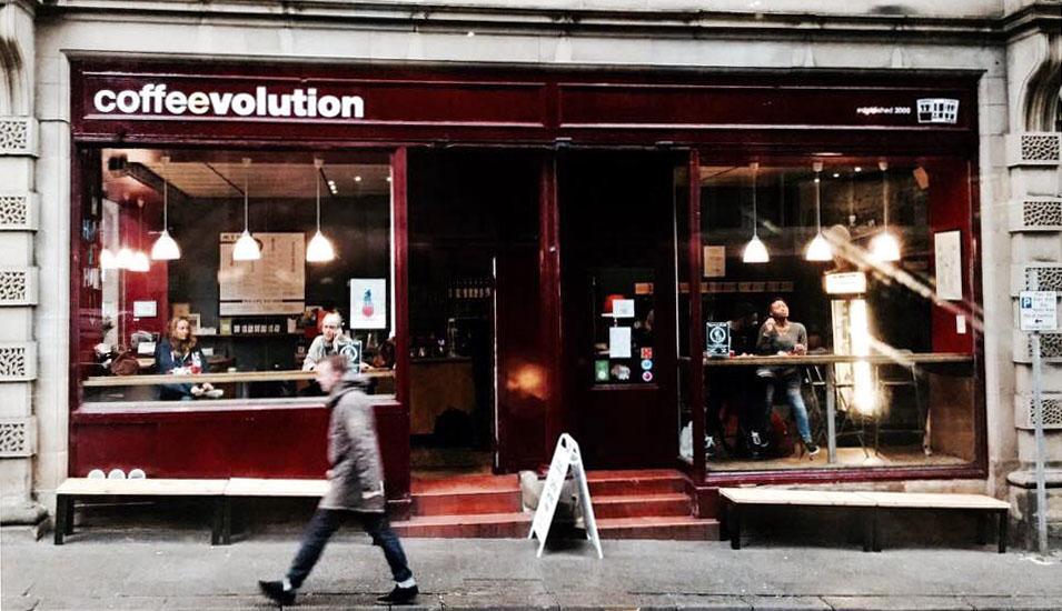 Coffeevolution  8 Church Street Huddersfield HD1 1DD