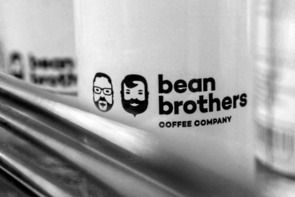 Bean Brothers Coffee Company Coffee Mugs.