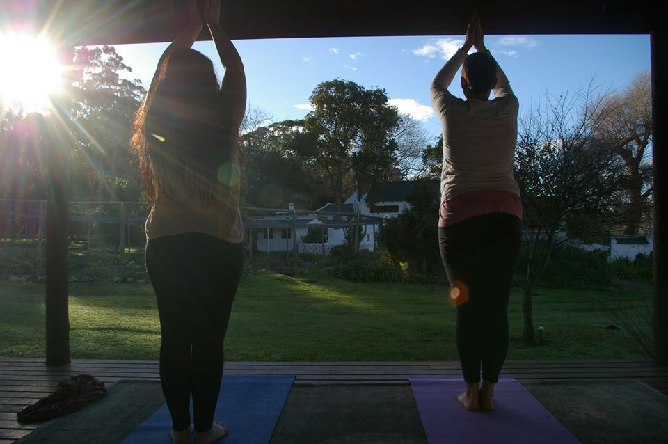 Yoga on the deck with sunrise.jpg